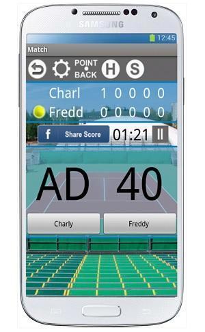tennis stats pro app